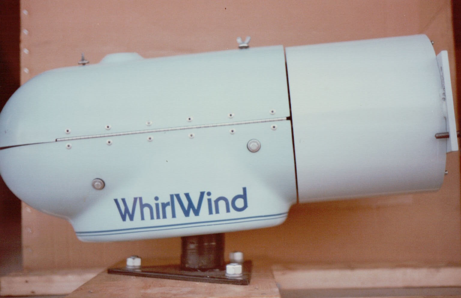 Pictures from the early 1980's of Enertech E44, WindWorker 10 ...